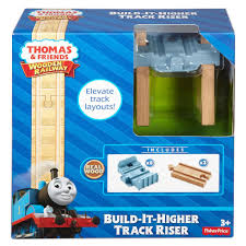 thomas the train wooden railway build it higher track riser