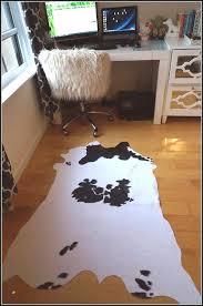 fake cowhide rug cow rug fresh fake cowhide rug rugs home decorating ideas faux cowhide rug