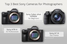 Sony Alpha Comparison Chart 10 Best Sony Cameras For Photographers Is Sony A Good