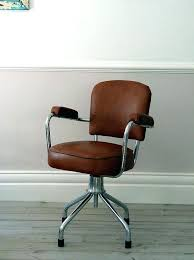 vintage office chairs french vintage leather office chair by vintage desk chairs uk