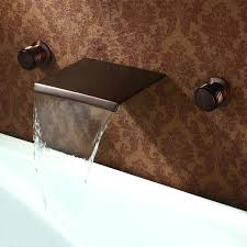 wall mount waterfall tub faucet wall mount waterfall tub spout wall mount waterfall tub faucet