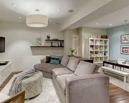 basement designers. Example Of A Classic Underground Medium Tone Wood Floor Basement Design In Toronto With Blue Walls Designers O