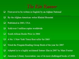the kite runner by khaled hosseini historical political and  the kite runner by the afghan american writer khaled hosseini