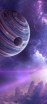1242x2688 Planet Moon Space Stars 4k ...