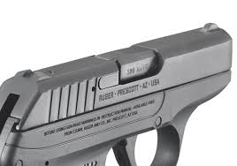 fixed front and rear sights are integral to the slide while the hammer is recessed within the slide