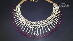snk diamonds ruby necklace promo by creativecrabs best jewelry branding ideas strategies