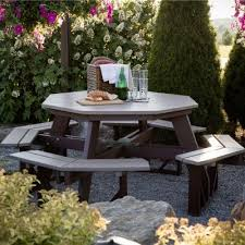 berlin gardens poly furniture. Berlin Gardens Polywood Octagon Picnic Table Collection As The Centerpiece To Any Outdoor Get Together, Our Amish Poly Wood Furniture