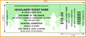 Concert Ticket Template Psd Lovely Download Ticket Templates For