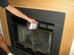 magnetic fireplace cover