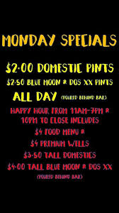 specials menu thirsty donkey tap house sports grill daily specials menu casa grande