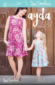 Simple Life Pattern Company Extraordinary BUNDLE Ayda Top Dress Collaboration With Simple Life Pattern