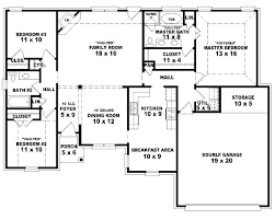 four bedroom house floor plan 4 bedroom house plans one story fabulous 4 bedroom single y