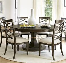 40 inch round pedestal dining table: california rustic oak expandable round dining table
