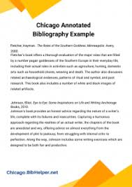 bibliography in chicago style check out accurate annotated bib chicago style