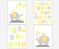 yellow and gray canvas wall art surprising baby nursery grey alphabet numbers home design ideas 46 on number canvas wall art with yellow and gray canvas wall art superhuman baby girls nursery grey