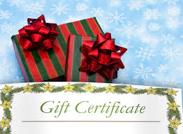 printable christmas gift certificates