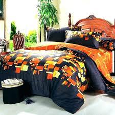 burnt orange queen comfor set bedding chocolate and incredible whole comforter home improvement wilsons