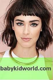 حلاقة الشعر للشعر المتوسط مع فرقعة 2018 امرأة صور من
