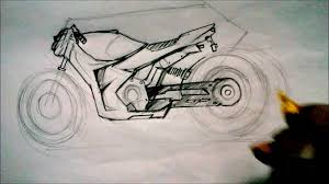 How To Design A Motor How To Draw Or Design A Motor Bike For Beginners