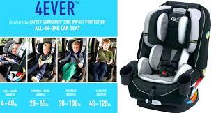 graco forever 4 in 1 car seat item nova installing forward facing