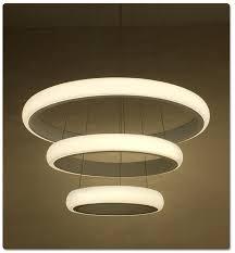 round pendant lighting. Modern Dinning Room LED Round Pendant Lighting Oval Hanging Lamp Luxury Kitchen Led