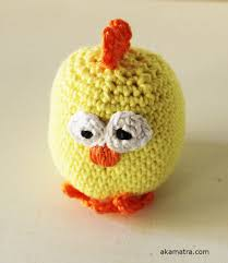 Crochet Chicken Pattern New Decorating