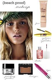 beach make up natural summer makeup best makeup for the beach how to