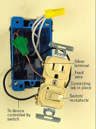 all about combination switches and receptacles better homes gardens unswitched plug