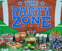 Super Bowl Party Decorating Ideas Super Bowl Party Decorations Super Bowl Decor Idea Easy Super Bowl 36