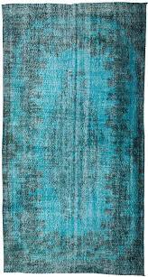 vintage over dyed turkish rug