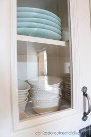 how to add glass to kitchen cabinets