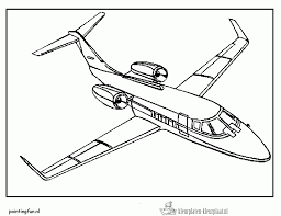 Kleurplaten Vliegtuig Kleurplaten Kleurplaatnl