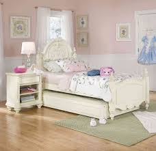 Kids Room Exquisite White Bedroom Furniture And Colorful Light ...