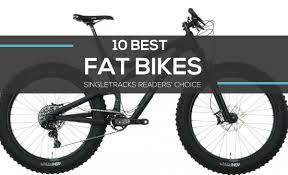 readers choice the 10 best fat bikes of 2017 singletracks