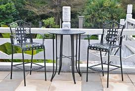 tall outdoor chairs captivating tall patio bistro set outdoor bar stools the garden and patio home