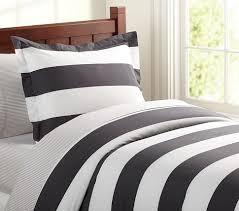 black and white striped duvet. Plain Striped On Black And White Striped Duvet I