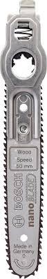 """<b>Полотно пильное Bosch</b> """"Nanoblade Wood Speed 50"""" для Easy ..."""