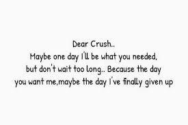 Quotes crush