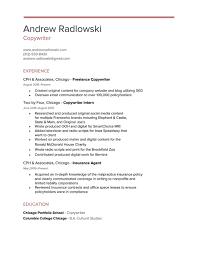 resume andrew radlowski copywriter