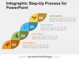 Infographic For Powerpoint Infographic Step Up Process For Powerpoint Presentationgo Com