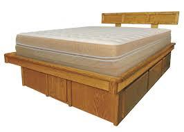 oak platform bed. Fine Oak Matrix Platform Bed Frame And Oak S