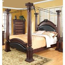 Four Post Bed Coaster Company Cherry 4 Bedroom Sets For Sale