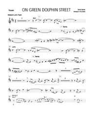 Green Dolphin Street Chart 5 Horn Charts Charts And Arrangements For Combo Big Band