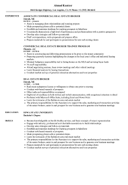 Best Real Estate Agent Resume Example Awesome Collection Of Real