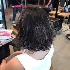 Hairmake Earth 浦添店 در توییتر パーマデザインカラー メッシュを