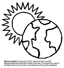 Small Picture Earths Rotation Coloring Page crayolacom