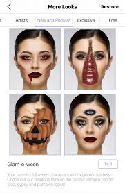 glam o ween halloween makeup looks