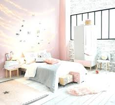A Shabby Chic Glam Girls Bedroom Design Idea In Blush Pink White And ...