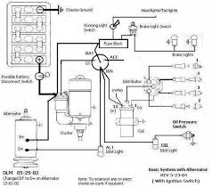 schematics diagrams and shop drawings shoptalkforums com basic system alternator stock ignition switch