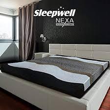 Sleepwell Nexa Mattress 78 X 72 X 8 Inches Off White